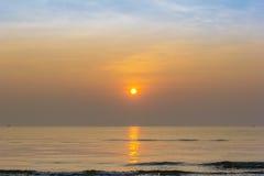 Sunrise at beach summer season Stock Photo