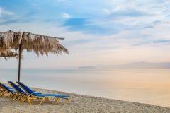 Sunrise on a beach Royalty Free Stock Photography