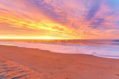 Sunrise beach Stock Image
