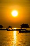 Sunrise with beautiful beach Royalty Free Stock Photography