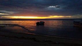 Sunrise. At bama beach baluran national park situbondo eastjava indonesia Stock Photo