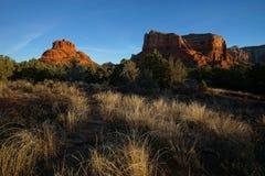 Sunrise at bell rock in sedona arizona Royalty Free Stock Photography