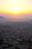 Sunrise in Bethlehem, Palestine, Israel Stock Images