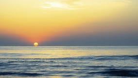 Sunrise at the Black Sea stock footage