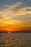 Sunrise boat    sea  thailand kho tao bay e south china sea Stock Photo
