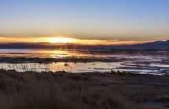 Sunrise in Bolivia Stock Photo