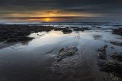 Sunrise at Bracelet Bay Royalty Free Stock Image