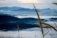Sunrise. At Broga Hill royalty free stock images