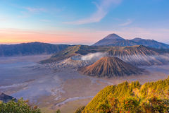 Sunrise at Bromo mountain. Indonesia Royalty Free Stock Images
