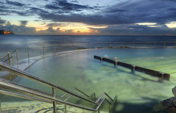 Sunrise from Bronte baths, Bronte, Australia Stock Photo