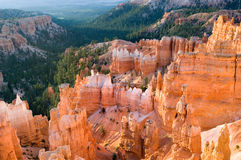 Sunrise in Bryce Stock Photo