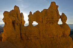 Sunrise in Bryce Canyon Royalty Free Stock Photography
