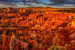 Sunrise at Bryce Canyon Stock Photo