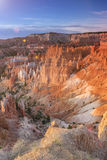 Sunrise at Bryce Canyon as Viewed From Sunrise Point at Bryce Ca Stock Photography