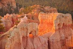 Sunrise Bryce Canyon hammer Royalty Free Stock Photo