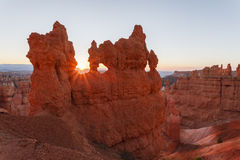 Sunrise at Bryce Canyon National Park Royalty Free Stock Photo