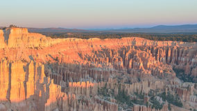 Sunrise at Bryce Point, Bryce Canyon National Park Royalty Free Stock Image