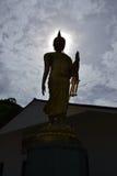 Sunrise and Buddha Royalty Free Stock Photo
