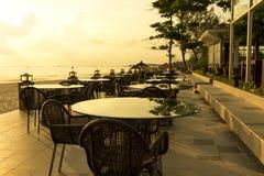 Sunrise Cafe Royalty Free Stock Image