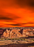 Sunrise Canyon de Chelly Stock Images
