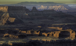 Sunrise on Canyonlands Stock Images