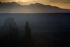 Sunrise in Canyonlands National Park Stock Photos