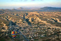 Sunrise at Cappadocia ballon Stock Photography