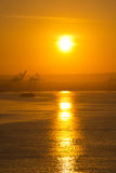 Sunrise in Cartagena Stock Photo