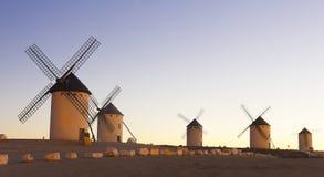 Sunrise in Castile, Spain. Sunrise in Castile Royalty Free Stock Images