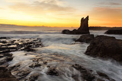 Sunrise Cathedral Rock, South Coast, Australia Royalty Free Stock Images