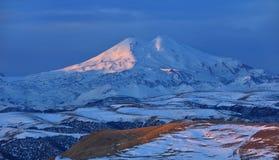 Sunrise in Caucasus Royalty Free Stock Image