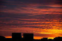 Sunrise in Caxias do Sul Stock Photography