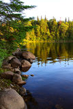 Sunrise on Cedar Lake Royalty Free Stock Photos