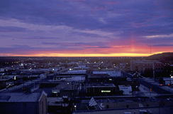 Sunrise, Cedar Rapids, South Dakota Royalty Free Stock Photo