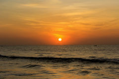 Sunrise in Chennai Royalty Free Stock Photo