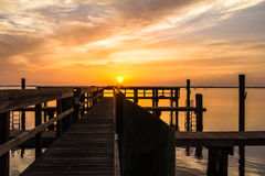 Sunrise on the Chesapeake Bay Royalty Free Stock Photo