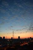 Sunrise. From the China Guangzhou sunrise Stock Photos