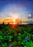 Sunrise at china sea in HDR Royalty Free Stock Image