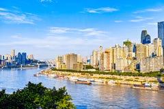 Sunrise of Chongqing Royalty Free Stock Photography