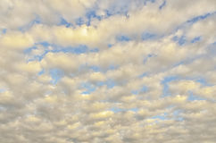 Sunrise Cirrocumulus Stock Photography