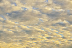 Sunrise Cirrocumulus Royalty Free Stock Images