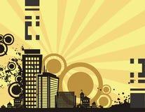 Sunrise City Background Series Royalty Free Stock Images