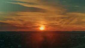 Sunrise in the city 4K timelapse