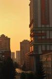 Sunrise cityscape Royalty Free Stock Image