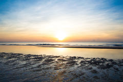 Sunrise. With clear sky at Hua-Hin Royalty Free Stock Images