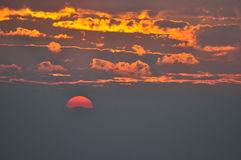 Sunrise and cloud sky in the moring Stock Photo