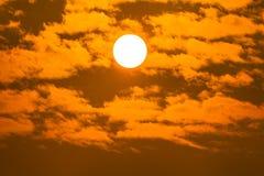 Sunrise on sky Royalty Free Stock Image