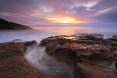 Sunrise Coalcliff NSW Australia Stock Images