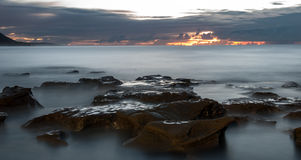 Sunrise Coalcliff, Sydney Royalty Free Stock Images