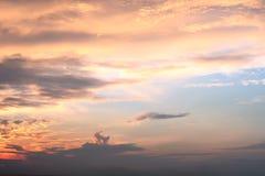 Sunrise coast Stock Photo